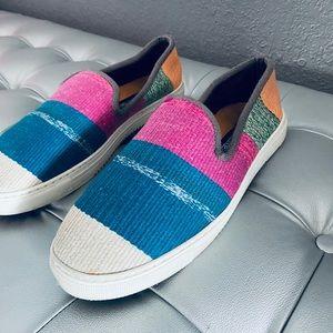 El Rincón De Fehmi Turkish Kilim Wool Loafers